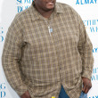 Stock Photo: Quinton Aaron arrives at the Los Angeles premiere