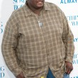 Quinton Aaron arrives at the Los Angeles premiere — Stock Photo #18454077