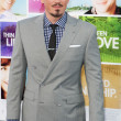 Steve Howey arrives at the Los Angeles premiere — Stock Photo #18455405