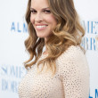 Hilary Swank arrives at the Los Angeles premiere — Stock Photo