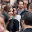 Angelina Jolie arrives at the Los Angeles premiere — Stock Photo