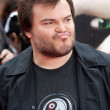 Jack Black arrives at the Los Angeles premiere — Stock Photo