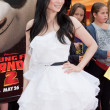 Lucy Liu arrives at the Los Angeles premiere — Stock Photo