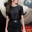 Angelina Jolie arrives at the Los Angeles premiere of Kung Fu Panda 2 — Stock Photo #18457181
