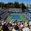 General view of mens singles final played at UCLGrand Stand court — Stock Photo #18457601