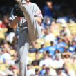 Stock Photo: BRONSON ARROYO pitches during game