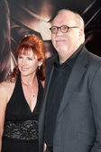 Patricia Tallman and writer J. Michael Straczynski arrive at the Los Angeles premiere — Stock Photo