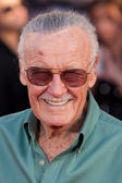 Stan Lee arrives at the Los Angeles premiere — Stock Photo