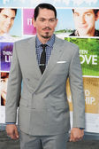 Steve Howey arrives at the Los Angeles premiere — Stock Photo