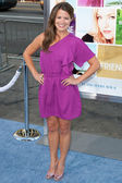 Melissa Claire Egan arrives at the Los Angeles premiere — Stock Photo