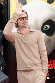 Brad Pitt arrives at the Los Angeles premiere — Stock Photo