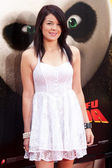Jade Ramsey arrives at the Los Angeles premiere of Kung Fu Panda 2 — Stock Photo