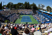 A general view of the mens singles final played at UCLA Grand Stand court — Stock Photo