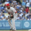 Постер, плакат: Erick Aybar pays attention during the game