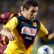 Salvador Cabanas in action during the InterLiga 2010 match — ストック写真
