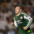 Stock Photo: Kris Boyd celebrates goal during Major League Soccer game