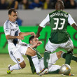 Juninho, Steve Purdy and Hanyer Mosquerin action during Major League Soccer game — Stok Fotoğraf #18765411