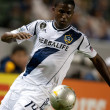 Edson Buddle in action during the Major League Soccer game - Stock Photo