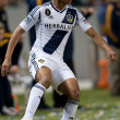 Sean Franklin in action during the Major League Soccer game - Stock Photo