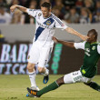 Robbie Keane and Hanyer Mosquera during the Major League Soccer game — Foto Stock #18765473