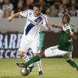 Stock Photo: Robbie Keane and Hanyer Mosquerduring Major League Soccer game