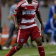Fabian Castillo during the Major League Soccer game — Photo