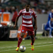 Fabian castillo tijdens de major league soccer Spel — Stockfoto #18765539
