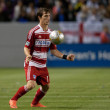 Zach Loyd during the Major League Soccer game — Foto de Stock