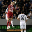 Постер, плакат: Andrew Jacobson in action during the Major League Soccer game