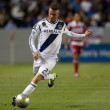 David Beckham during the Major League Soccer game — Stock fotografie