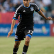 Steven Beitashour during the Major League Soccer game — Foto Stock