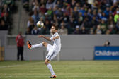 Mike Magee during the Major League Soccer game — Stock Photo