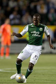 Diego Chara during the Major League Soccer game — Stock Photo