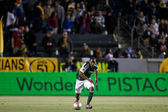 Darlington Nagbe during the Major League Soccer game — Stock Photo