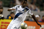 Edson Buddle in action during the Major League Soccer game — Stock Photo