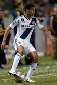 Sean Franklin in action during the Major League Soccer game — Stock Photo