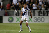 Sean Franklin during the Major League Soccer game — Stock Photo