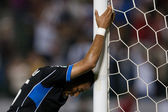 Justin Morrow shows his frustration as his team goes down 2-0 during the Major League Soccer game — Stock Photo