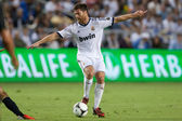 Xabi Alonso in action during the World Football Challenge game — Stock Photo