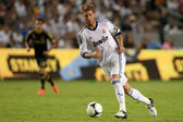 Sergio Ramos in action during the World Football Challenge game — Stock Photo
