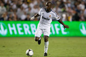 Lassana Diarra in action during the World Football Challenge game — Stock Photo