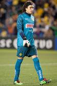 Francisco guillermo ochoa under interliga 2010 matcha — Stockfoto