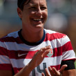 Abby Wambach — Stock Photo