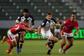 Rugby match between the USA Men's Eagles and Tonga at the StubHub Center — Foto de Stock