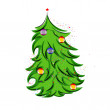 Christmas tree — Stock Vector #14803925