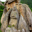 The dragon, stone formation in Primorye, Russia - Stock Photo