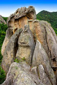 The dragon, stone formation in Primorye, Russia — Stock Photo