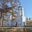 The Holy Savior image church  Irkutsk — Stock Photo
