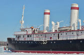 "Icebreaker ""Angara"" only one of the first ships icebreaker that has survived to this day — 图库照片"