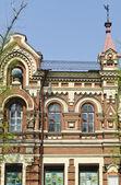 Old building on the central street in Irkutsk, constructed in the period between 1899-1903 — Stock Photo